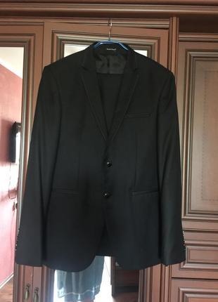 bd76814034e4 Черные мужские костюмы 2019 - купить недорого мужские вещи в ...