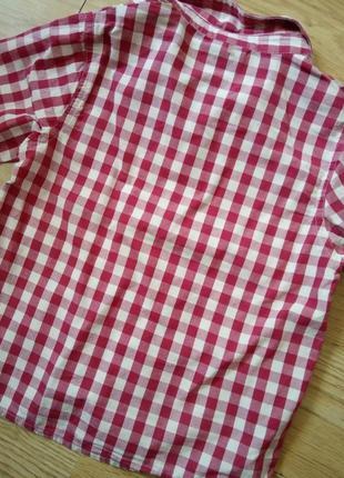 Next рубашка клетка3 фото
