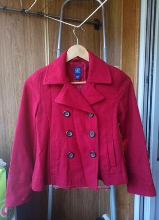 Теплое пальто плащ на девочку 12-13 лет