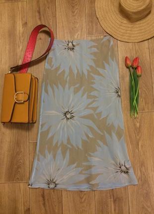 Романтичная летняя юбка-миди с цветочным принтом street one