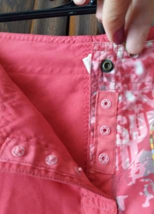 Яркие шорты с накатом-decathion--40 42р3 фото