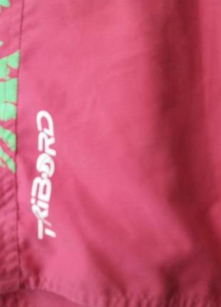 Яркие шорты с накатом-decathion--40 42р4 фото