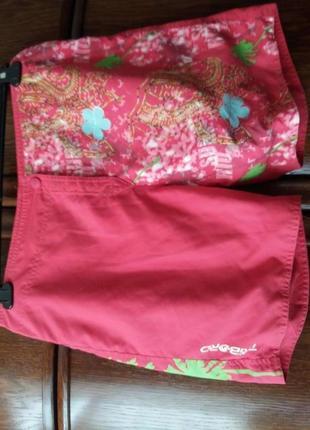 Яркие шорты с накатом-decathion--40 42р9 фото