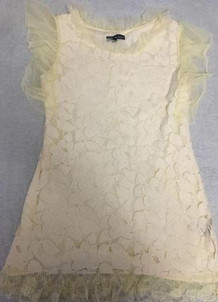 Платье-туника кружево