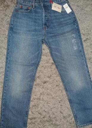 Продам новые джинсы mom gap
