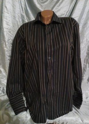 Рубашка мужская под запонки.