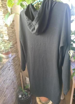 🔥 только сутки такая цена!🔥!!платье-худи-толстлвка оверсайз reserved3 фото