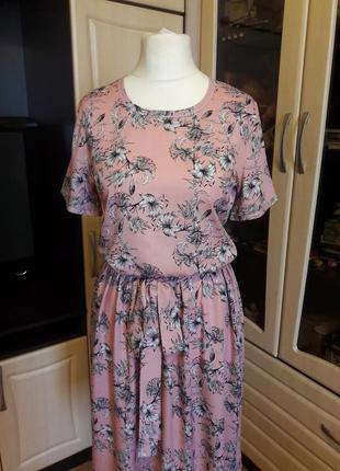 Очень красивое нежное платье3 фото