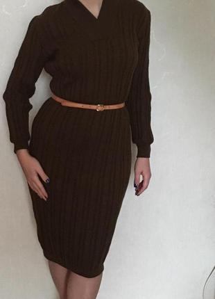 Вязанное платье celine селин