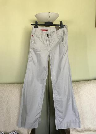 Стильные хлопковые штаны