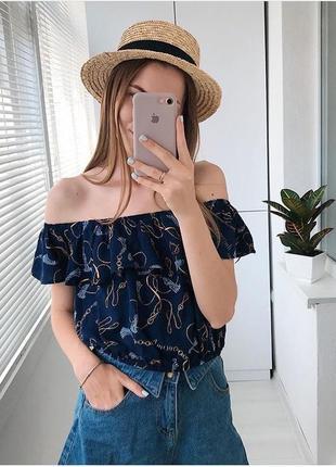 Очень красивый топ блуза
