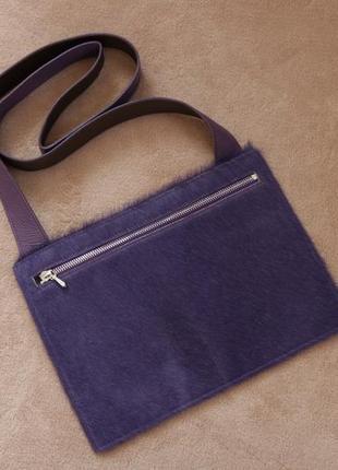 Format brigitte huerzele эксклюзивная кожаная тонкая сумка кроссбоди швейцария