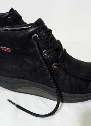Кожаные зимние ботинки rollingsoft by gabor