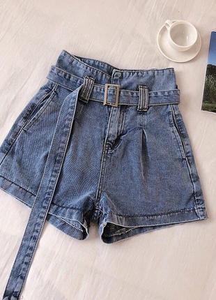 Модные джинсовые шорты по самой низкой цене в интернете