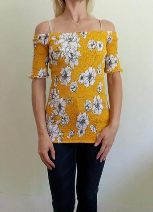 Яркая летняя блуза (s-m)