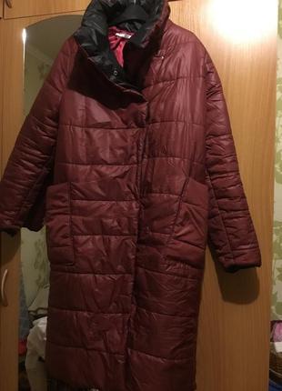 Пальто на синтепоне зима осень