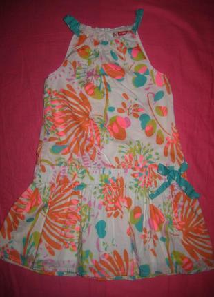 Стильное платье dp...am на 4 года
