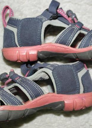 17см keen босоножки девочке кроссовки летние закрытые сандалии