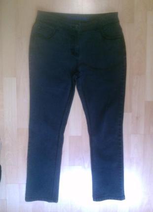 Фирменные укороченные джинсы