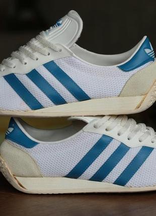 Редкие винтажные кроссовки adidas originals fencing shoes vintage 1970s-1980s
