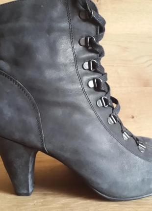 Ботинки next urban vintage100% кожа (нубук)