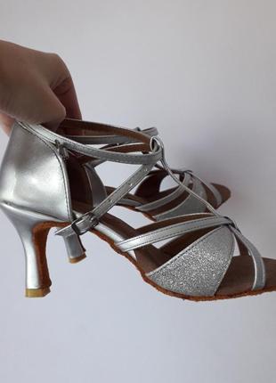 Туфли босоножки для бальных танцев