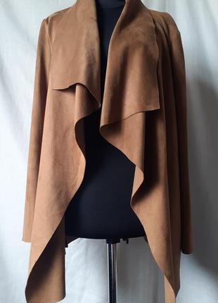 Стильный кардиган под замш vera moda