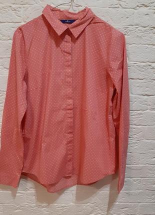 """_new _ классная рубашка в горошек от """"tom tailor"""""""