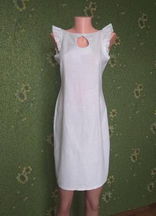 Платье лён oddi