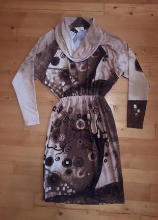 Платье из беларусского трикотажа беллакона.
