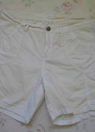 Скидка * белые шорты коттон