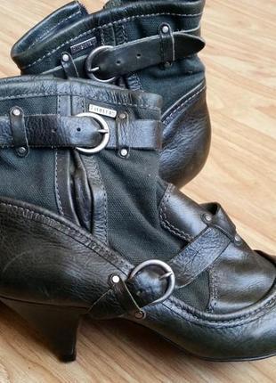 Ботинки кожа firetrap brazil