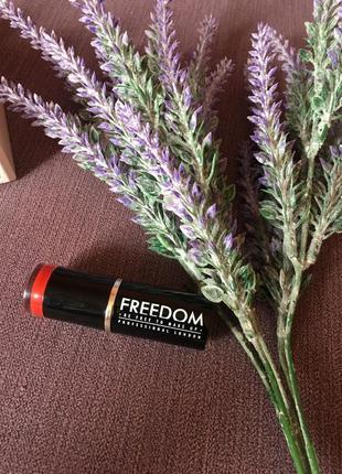 Трендовая  матовая помада freedom make up