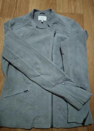 Фирменная замшевая куртка numph