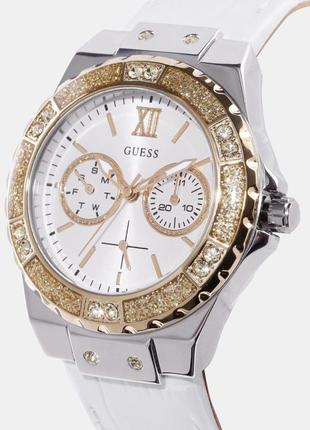 Часы guess c кристалами swarovski + в подарок топ missguided или шарф bonobo2 фото