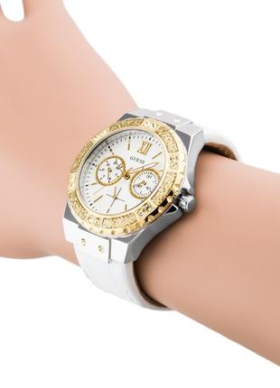 Часы guess c кристалами swarovski + в подарок топ missguided или шарф bonobo5 фото