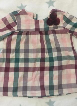 Платье на девочку малышку 3-6 месяцев h&m