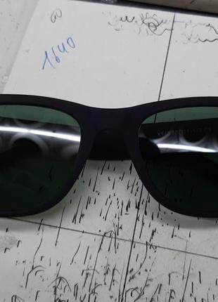 Солнцезащитные очки с медицинской линзой ( без диоптотрий) из стекла.