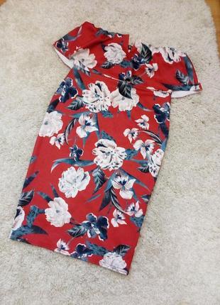 Платье в яркие цветы . бандо с топом  бренд style wise8 фото