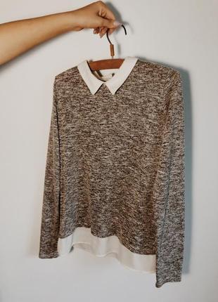 Pimpkie рубашка-свитер школьная,офисная
