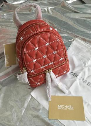Жіночий рюкзак мінік michael kors