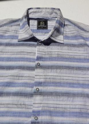 Тончайшая рубашка с коротким рукавом. турция.
