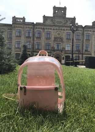 Прозрачный рюкзак/портфель тренд весны и лета 2019!