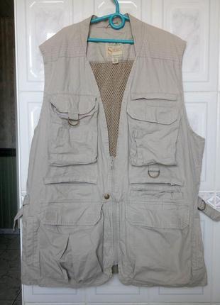 Сabelas safari vest|жилет для охоты -рыбалки