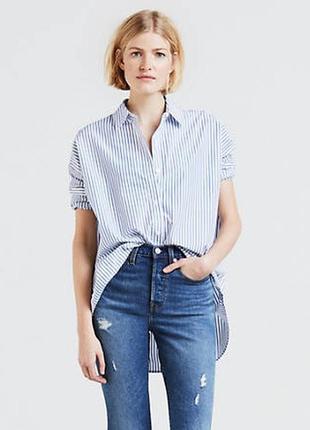 Рубашка женская levi's oversized fit оригинал