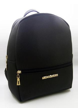 Женский стильный рюкзак черного цвета, модный портфель на каждый день, отличное качество!