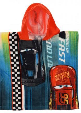Полотенце-пончо cars (тачки)