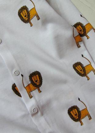H&m. размер 9-12 месяцев. новый комплект из 3-х ярких человечков для маленького модника8 фото