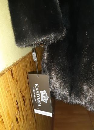 Норковая шуба с капюшоном.модель халат.греция.абсолютно новая.не дорого4 фото
