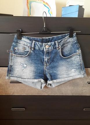 Джинсовые шорты ltb zara h&m джинсові шорти xs